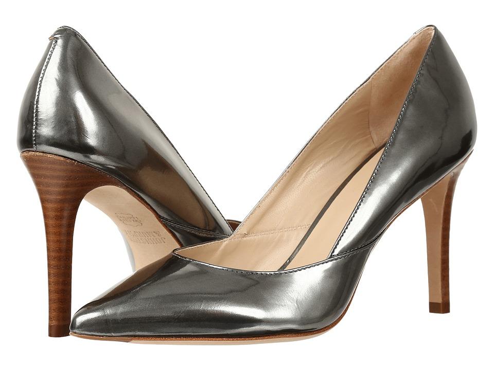 Johnston & Murphy Vanessa Pump (Pewter Italian Mirrored Metallic Leather) High Heels