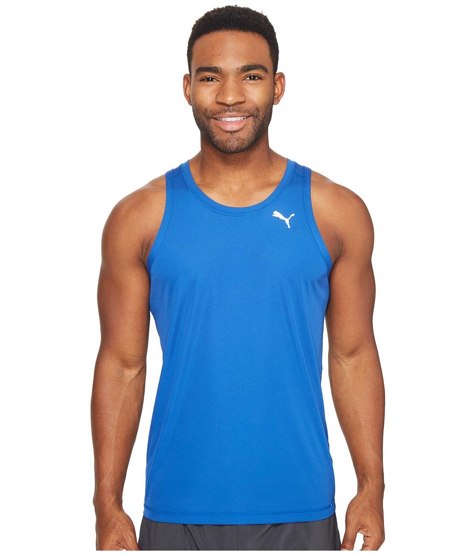 PUMA Core-Run Singlet (True Blue) Men