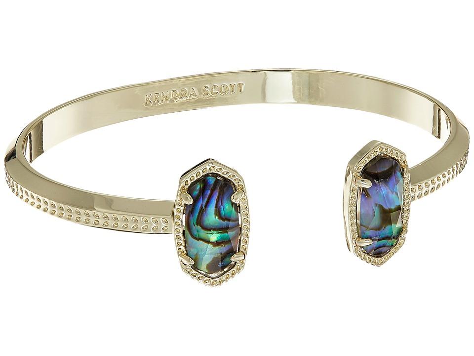 Kendra Scott Elton Bracelet (Gold/Abalone Shell) Bracelet