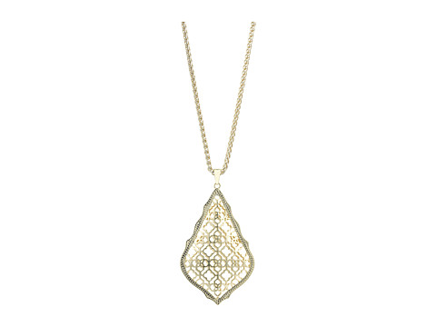 Kendra Scott Aiden Necklace - Gold Metal