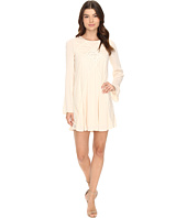 Brigitte Bailey - Naya Long Sleeve Dress with Lace Detail
