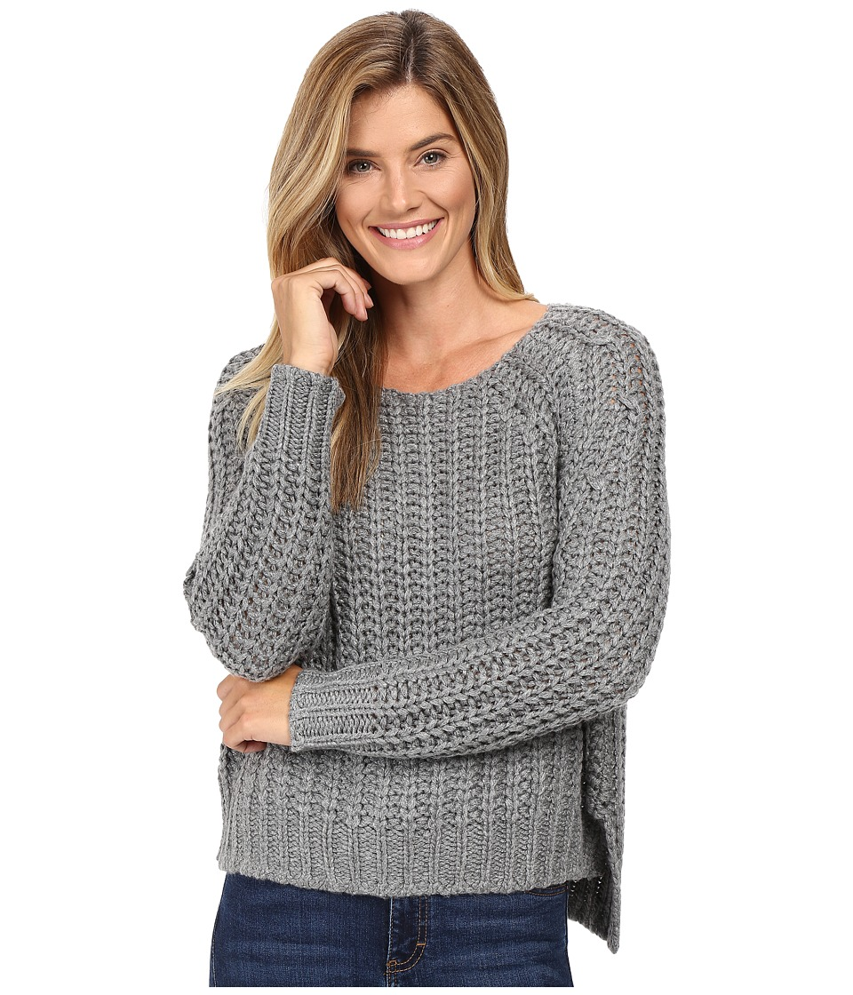 KUT from the Kloth - Page Chunky Crew Neck Top (Grey) Women