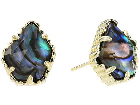 Kendra Scott Tessa Earring - Gold/Abalone Shell