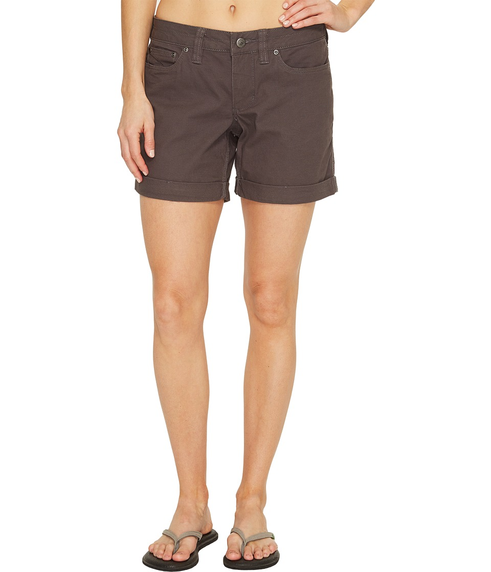 Mountain Khakis - Camber 106 Shorts Relaxed Fit (Slate) Womens Shorts