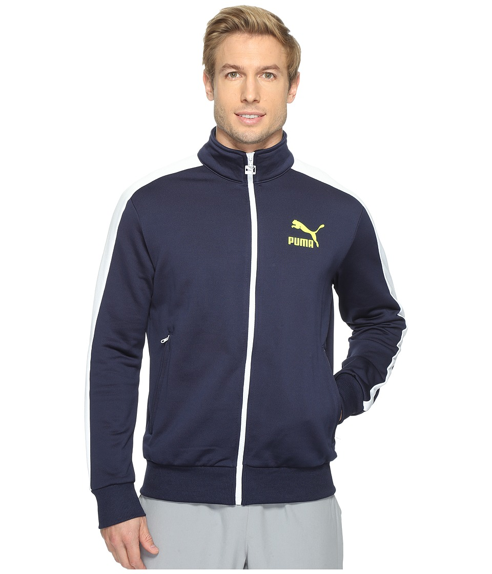 PUMA - Archive T7 Track Jacket (Peacoat) Mens Coat