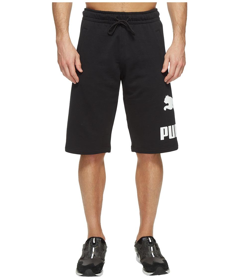 PUMA Archive Logo Sweat Bermudas (Cotton Black) Men