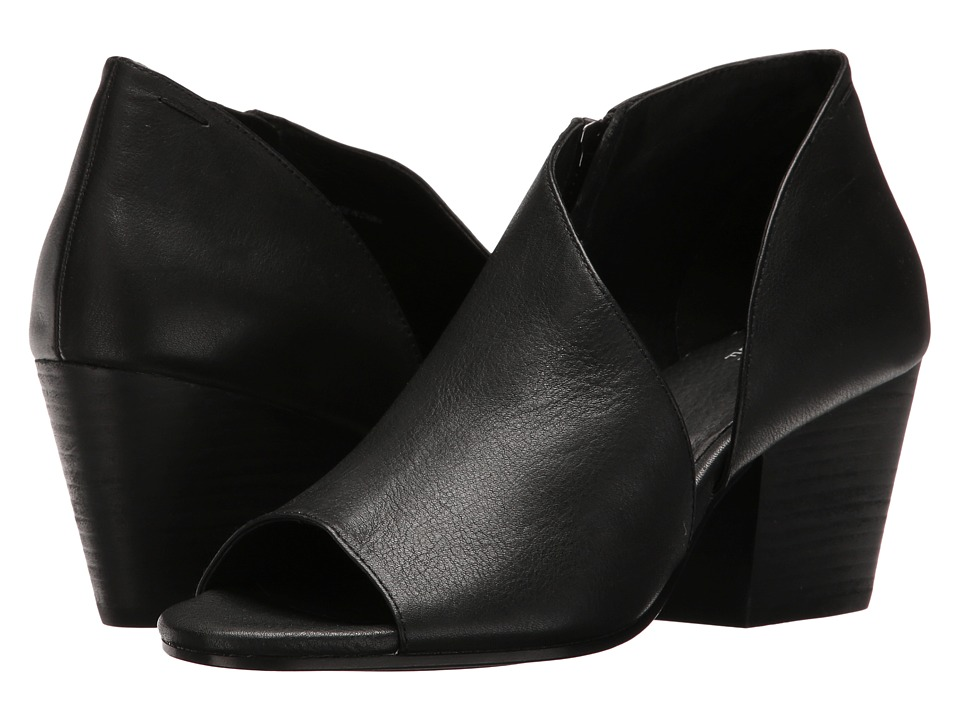 Eileen Fisher Drake (Black Washed Leather) Women