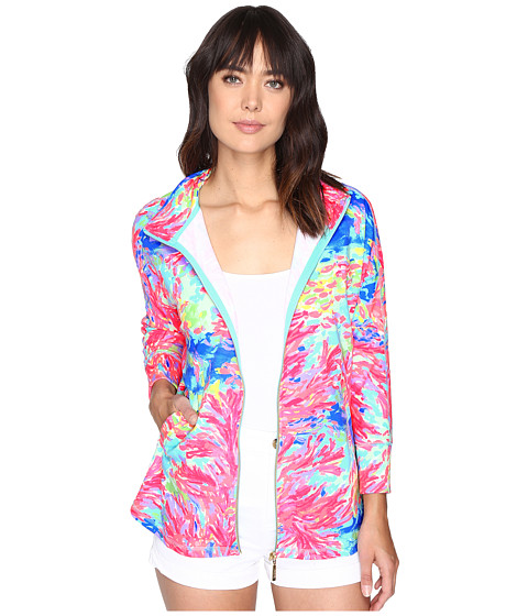 Lilly Pulitzer Deedee Swing Jacket - Multi Palm Beach Coral