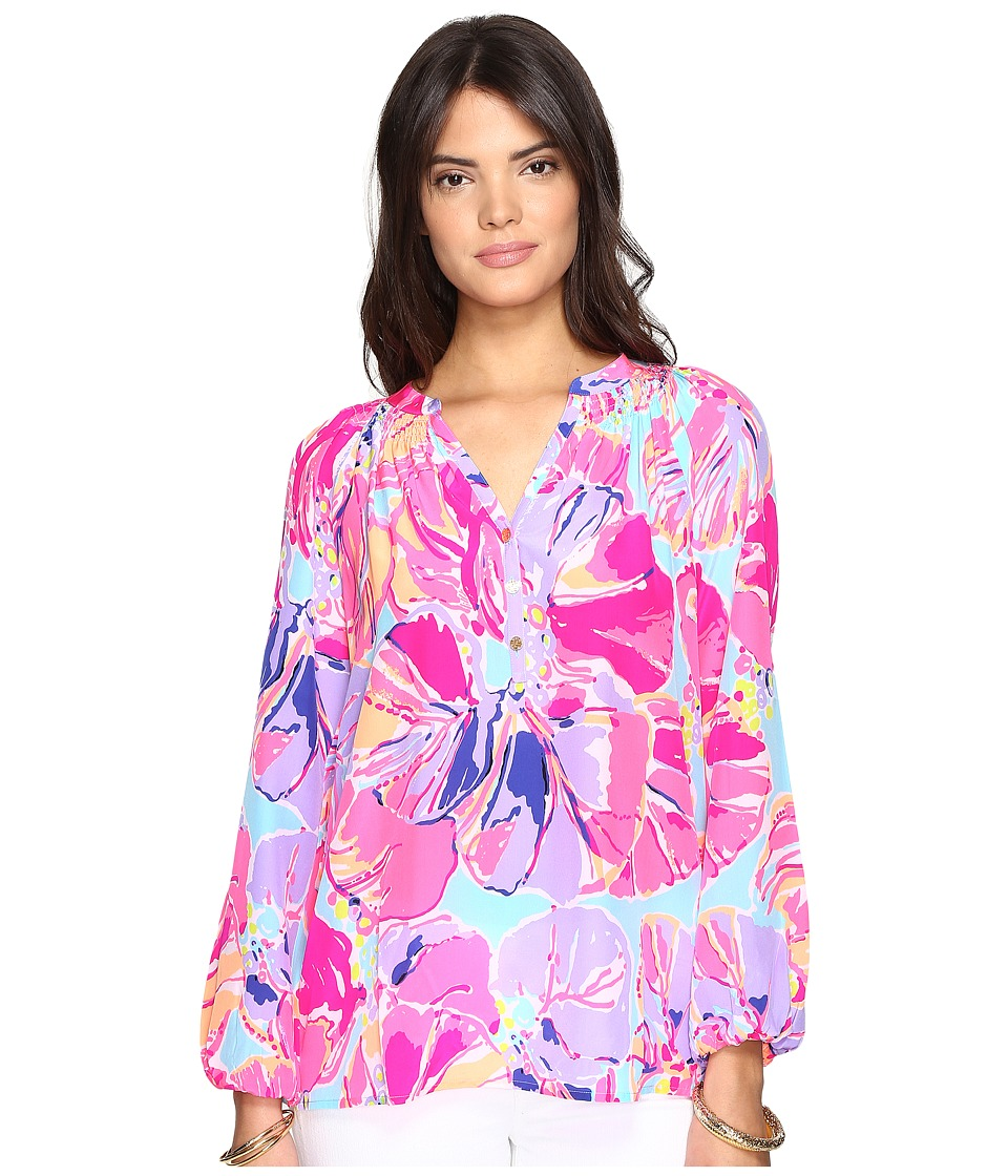 Lilly Pulitzer - Elsa Top (Multi Jam Out) Womens Blouse