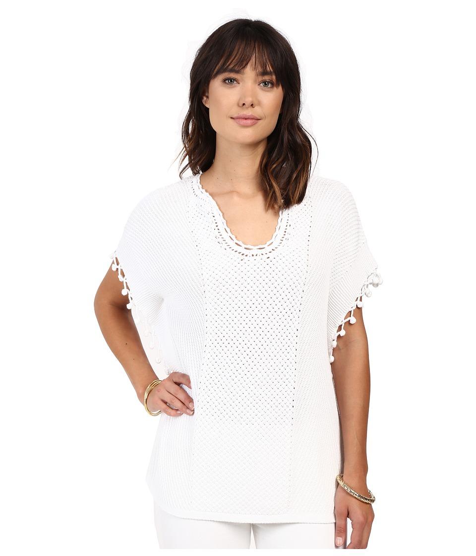 Lilly Pulitzer Keating Sweater (Resort White) Women