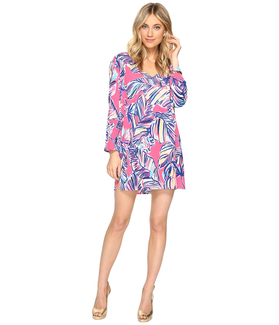 Lilly Pulitzer Lantana Beach Tunic (Tiki Pink Cabana Craz...