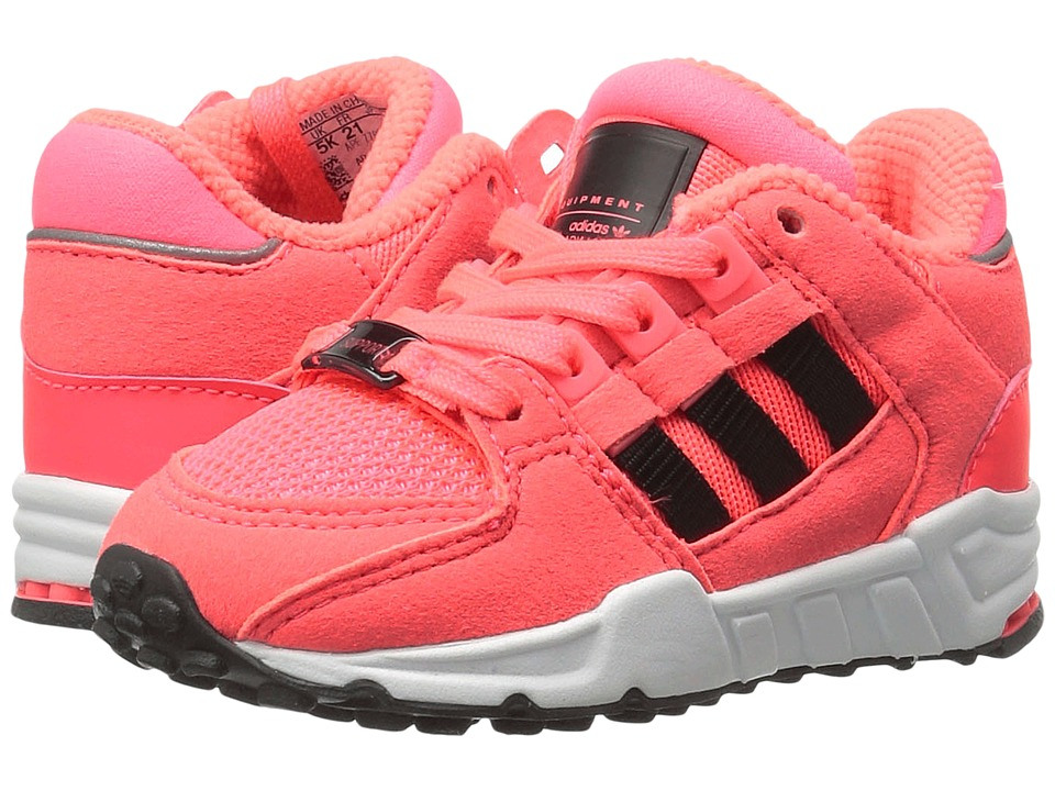 adidas Originals Kids EQT Support (Toddler) (Turbo/Core Black/Footwear White) Girls Shoes
