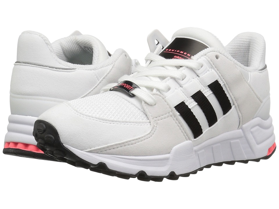 adidas Originals Kids EQT Support (Big Kid) (Footwear White/Core Black/Footwear White) Boys Shoes