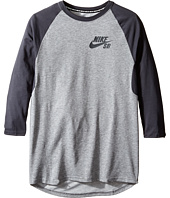 Nike Kids - SB Dry Icon 3/4 Sleeve Top (Little Kids/Big Kids)