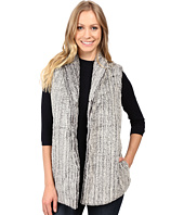 Dylan by True Grit - Faded Fleece Snap Front Vest