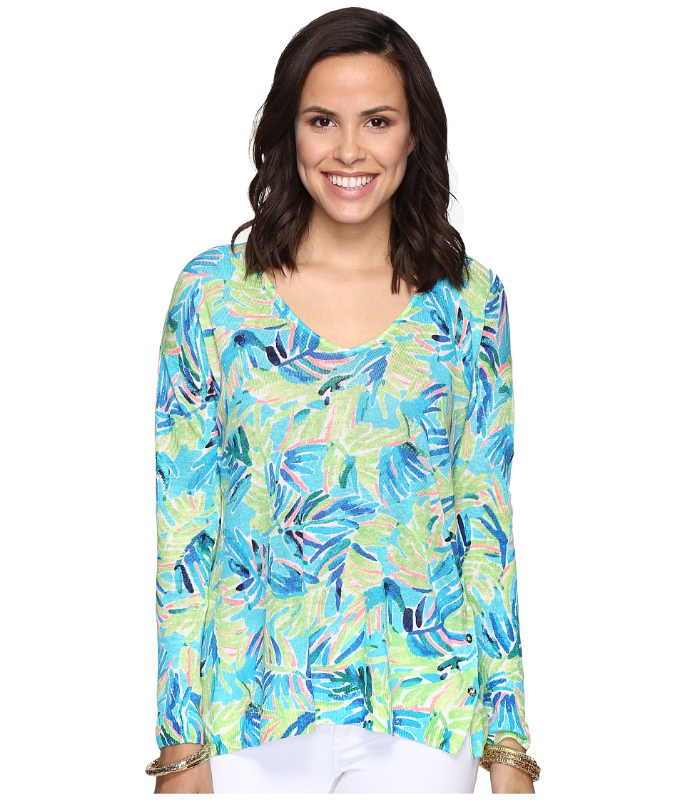 Lilly Pulitzer Liesel Sweater (Multi Serenity Now) Women