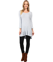 Dylan by True Grit - Rayon Thermal & Rib Hem Tee
