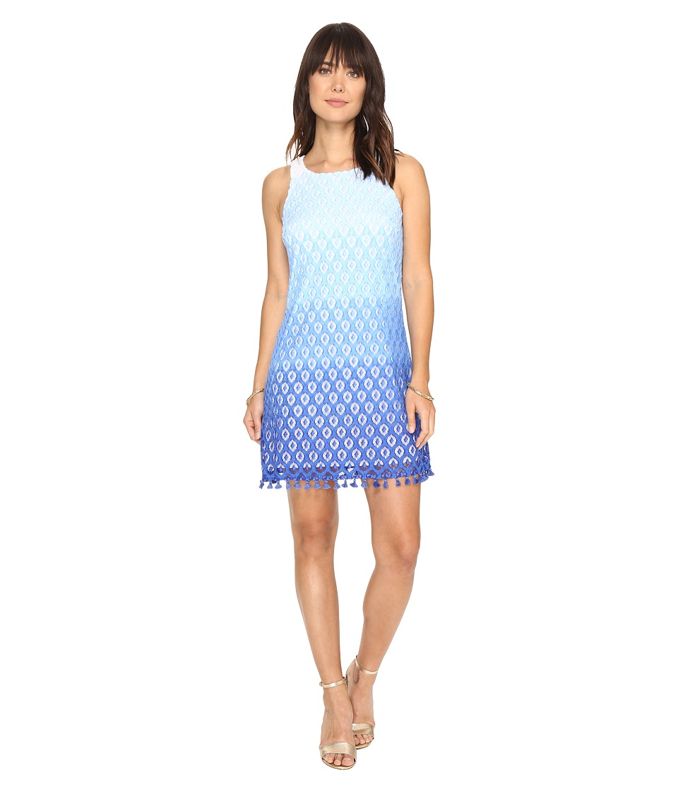Lilly Pulitzer Marquette Shift (Brilliant Blue Island Time Lace) Women