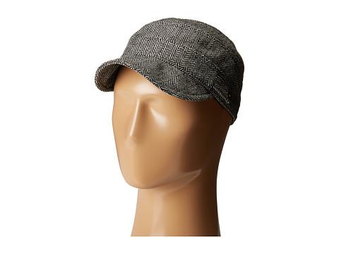 San Diego Hat Company CTH8047 Herringbone Cadet Cap - Black/White