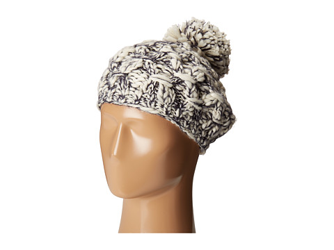 San Diego Hat Company KNH3406 Chunky Marled Knit Beret - Indigo