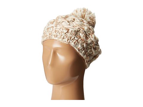 San Diego Hat Company KNH3406 Chunky Marled Knit Beret - Camel