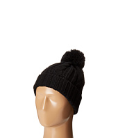 San Diego Hat Company - KNH3423 Solid Cable Beanie with Pom Pom