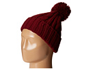 San Diego Hat Company KNH3423 Solid Cable Beanie with Pom Pom