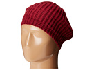 KNH3431 Knit Beret with Ribbed Opening