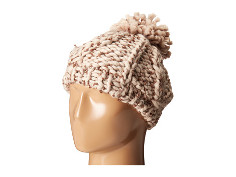 San Diego Hat Company KNH3404 Chunky Yarn Beret Hat - Camel