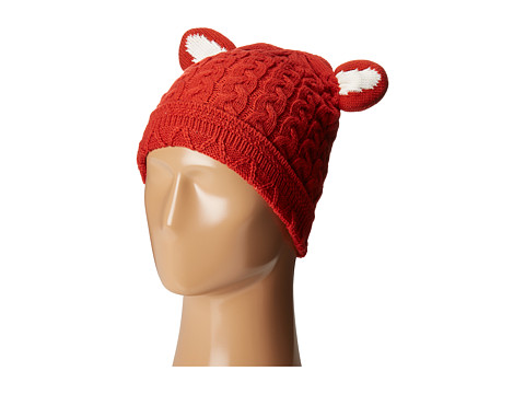 San Diego Hat Company KNH3410 Cabel Knit Beanie with Fox Ears
