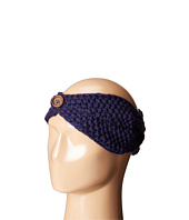San Diego Hat Company - KNH3440 Cable Knit Headband with Wood Button