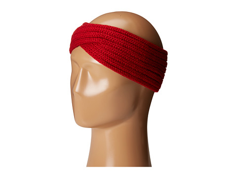 San Diego Hat Company KNH3444 Overlap Knit Headband - Red