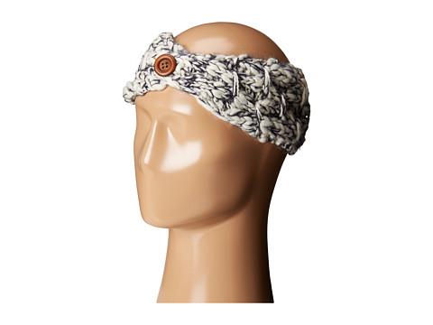 San Diego Hat Company KNH3442 Chunky Marled Knit Headband - Indigo