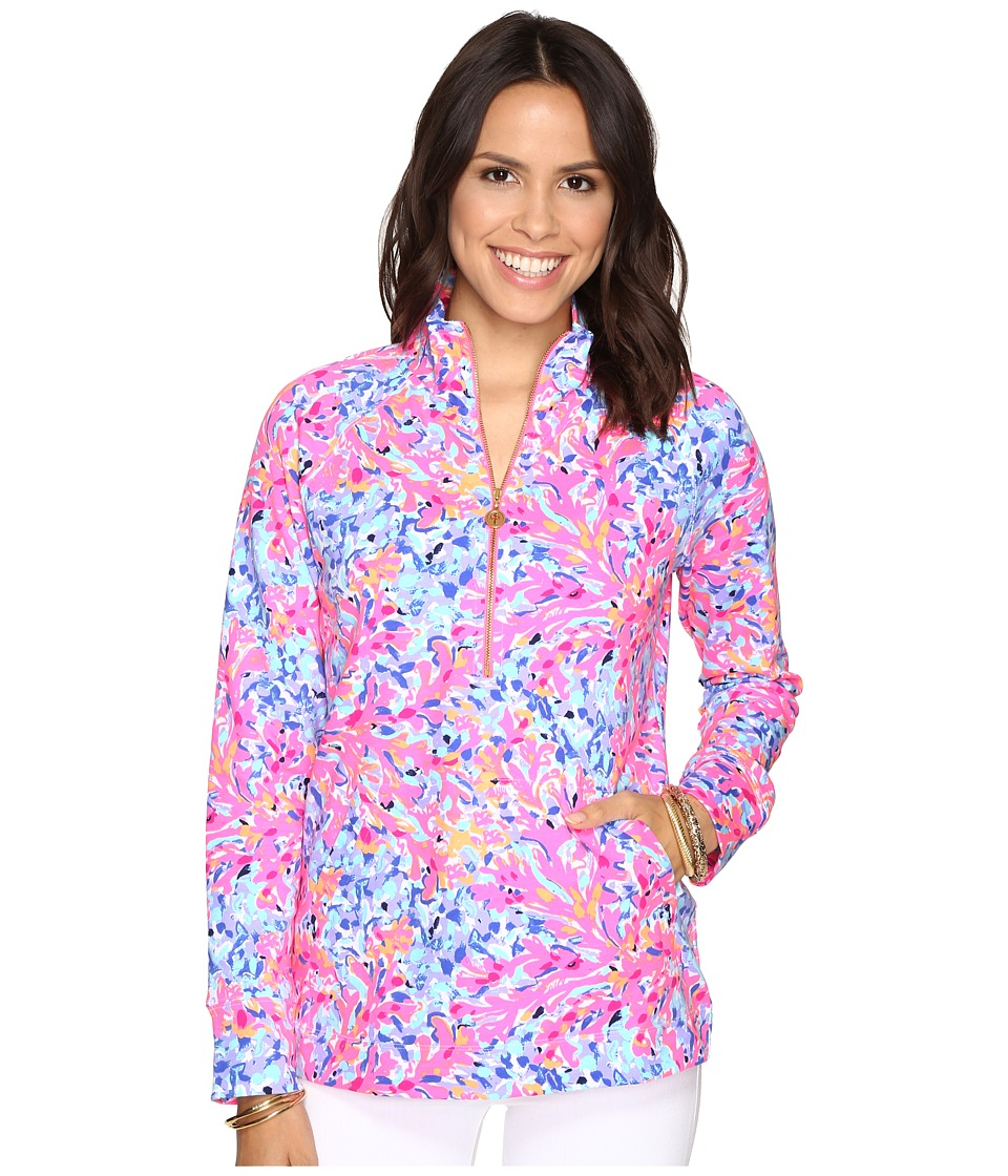Lilly Pulitzer Skipper Popover (Multi Coco Coral Crab) Women