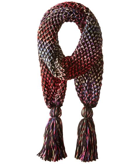 San Diego Hat Company BSS1662 Crochet Knit Oblong Scarf - Multi