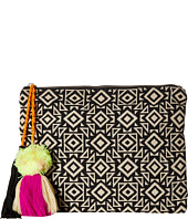 San Diego Hat Company - BSB1696 Woven Pattern Canvas Clutch