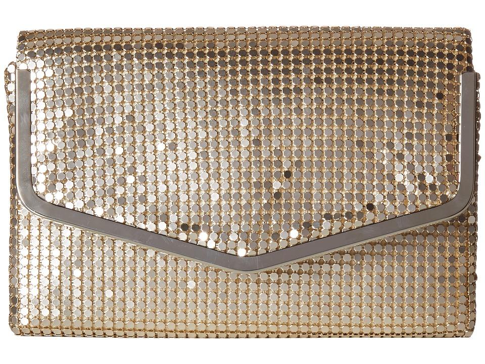 Jessica McClintock - Stephanie (Light Gold) Handbags