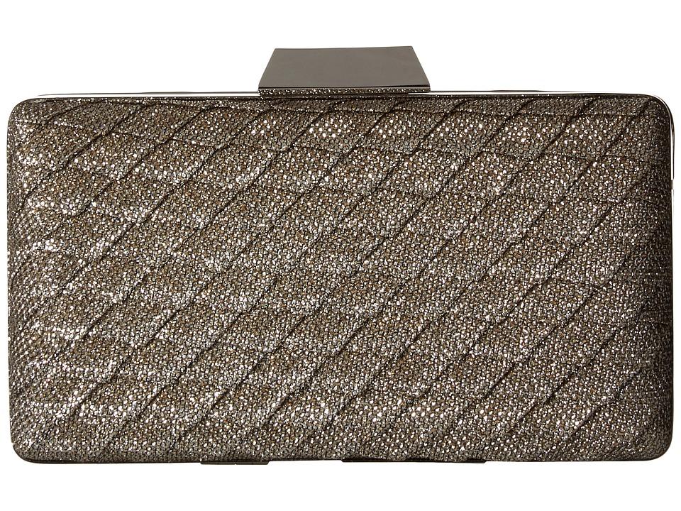 Jessica McClintock - Noelle Clutch (Champagne) Clutch Handbags