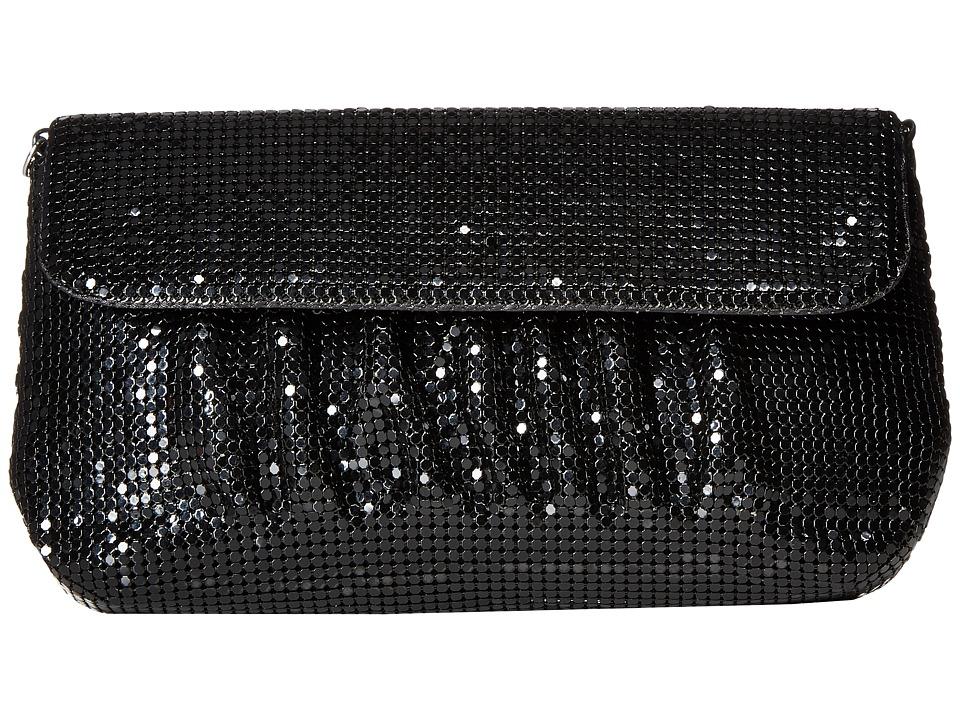 Jessica McClintock - Danielle Mesh Clutch (Black) Clutch Handbags