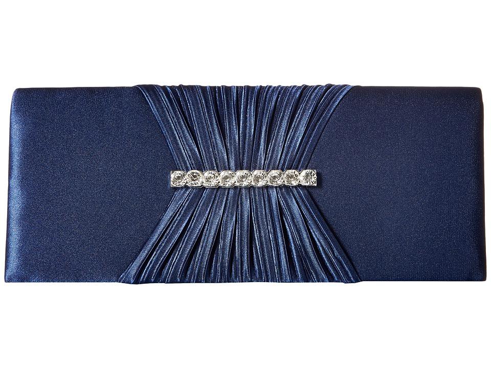 Jessica McClintock - Dana (Navy) Handbags