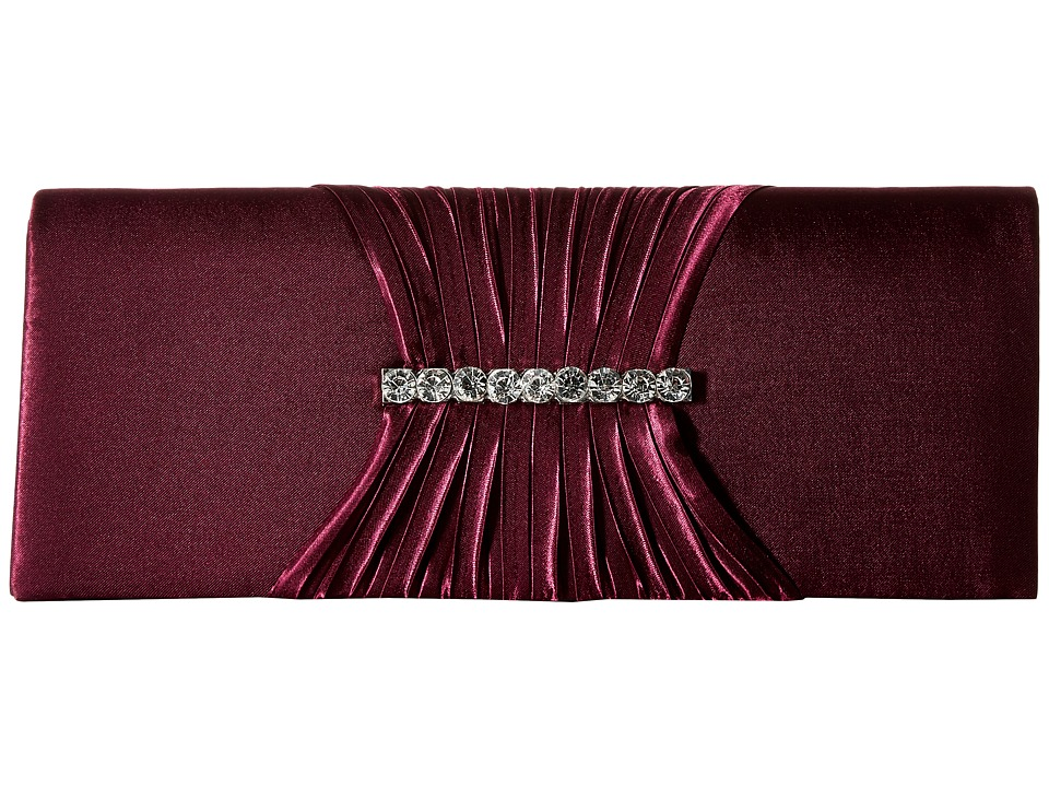 Jessica McClintock - Dana (Plum) Handbags