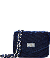Jessica McClintock - Elaine Velvet Shoulder Bag