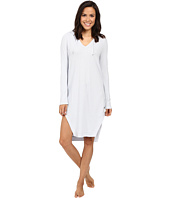 Yummie by Heather Thomson - Waffle Knit Hooded Nightshirt