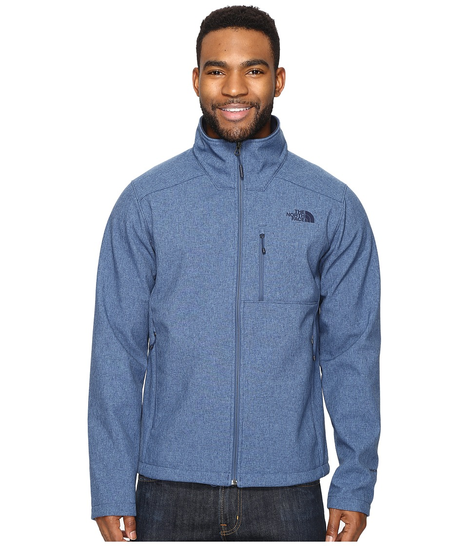 The North Face Apex Bionic 2 Jacket (Shady Blue Heather/Shady Blue Heather (Prior Season)) Men
