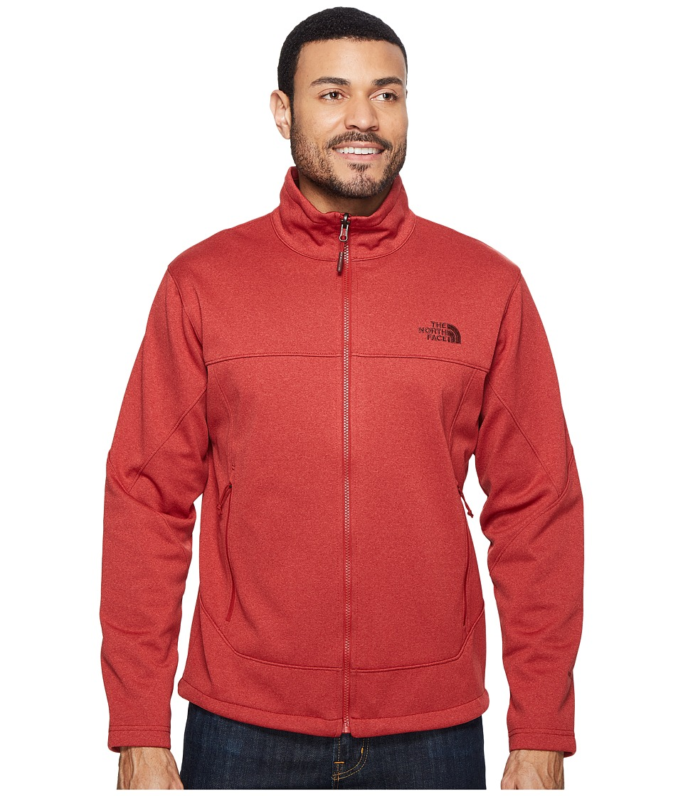 The North Face Canyonwall Jacket (Cardinal Red Heather/Cardinal Red Heather) Men