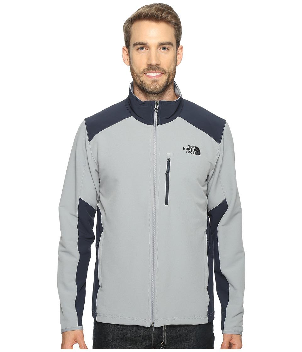The North Face Apex Pneumatic Jacket (Mid Grey/Urban Navy) Men