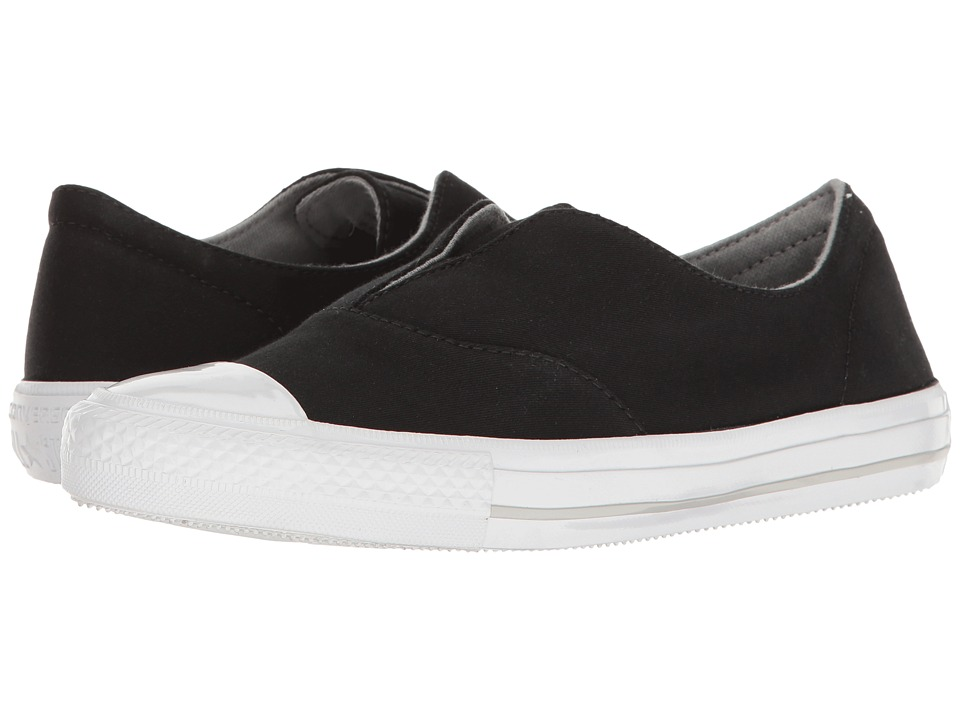 Converse Chuck Taylor All Star Gemma Craft Twill Slip-On (Black/White/Mouse) Women