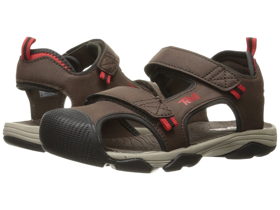 Teva Kids - Toachi 4 (Little Kid/Big Kid) (Chocolate/Blac...