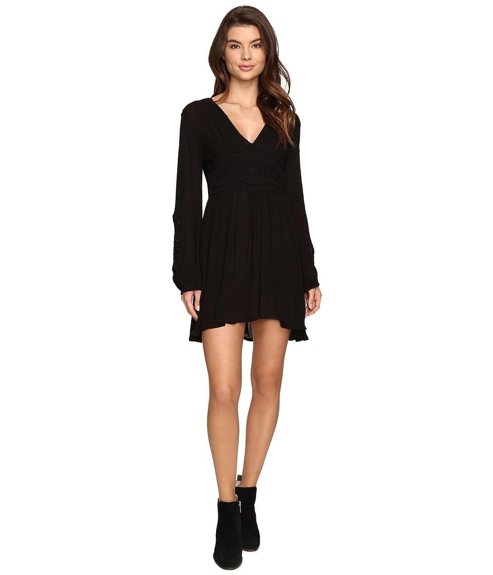 Volcom Nitescape Dress (Black) Women