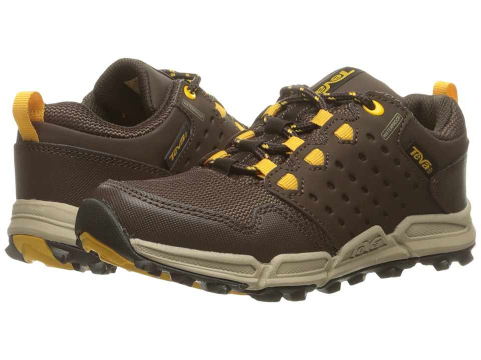 Teva Kids Wit (Little Kid) (Chocolate/Yellow) Boys Shoes